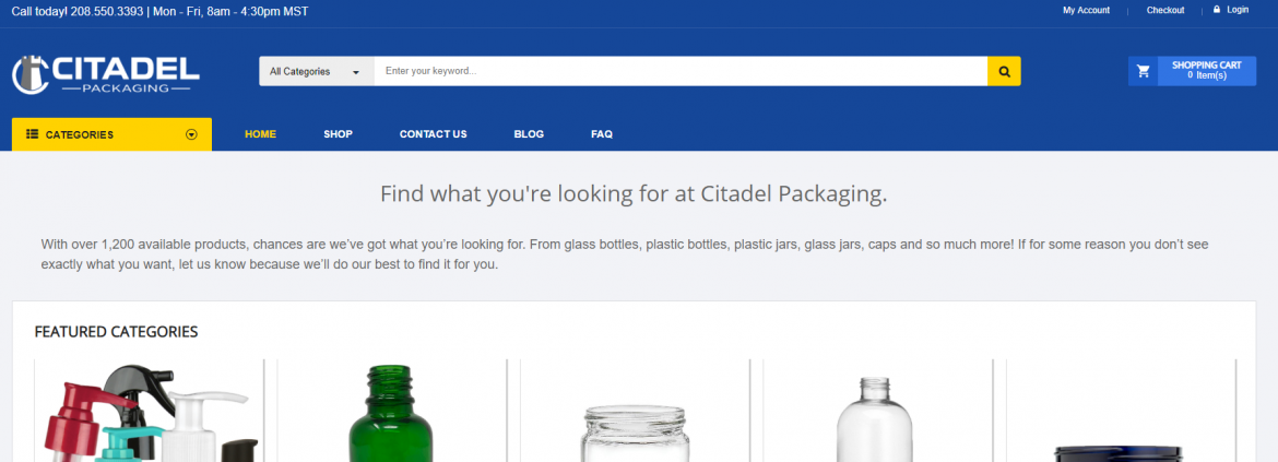 Jordan Does Integration Tests on Citadel Packaging
