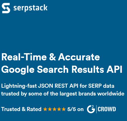 Serpstack. Easy Search Engine Results