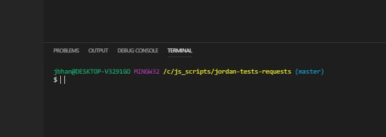 cursor in terminal