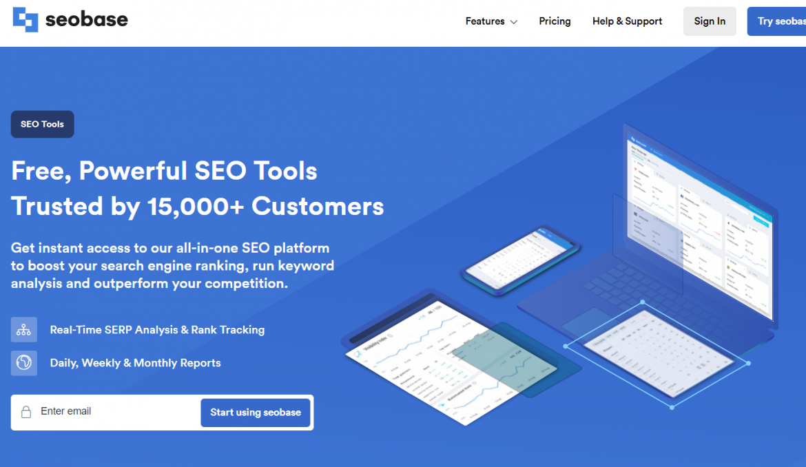 Seobase, SEO tools that you need